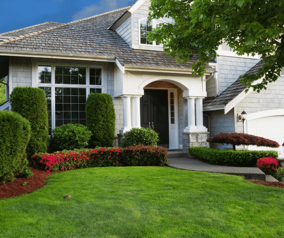 Lawn service home